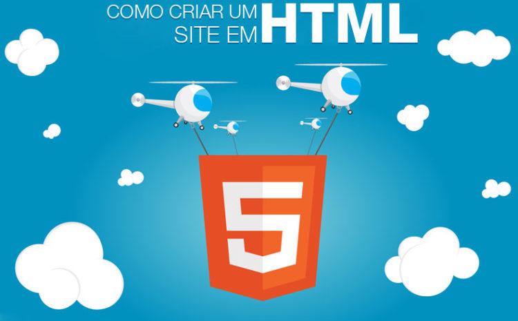 Como Criar um Site HTML